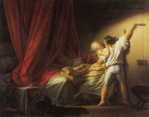 Jean Honore Fragonard. Bolt