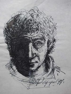 Борис Владимирович Федоров. Автопортрет.