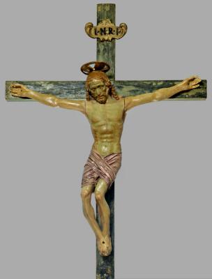 Андреа дель Вероккьо. Crucifixion of Christ