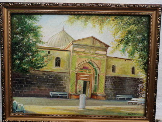 Seyran Mammadov. Juma mosque in Derbent