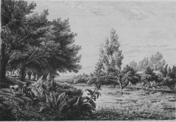 Charles-Francois Daubigny. Neighborhood Choisy-Le-ROI