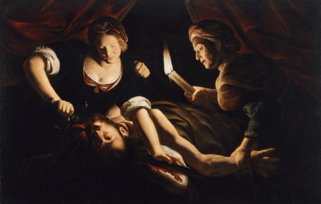 Trophim Bigo. Judith decapitation Holofernes