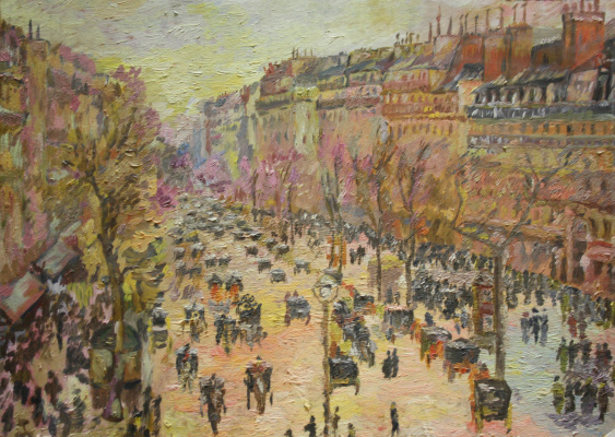 Vsevolod Chistyakov. Paintings To Buy In St. Petersburg, Paris Attractions Landscape
