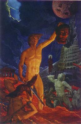 Илья Сергеевич Глазунов. Гимн героям. 1984