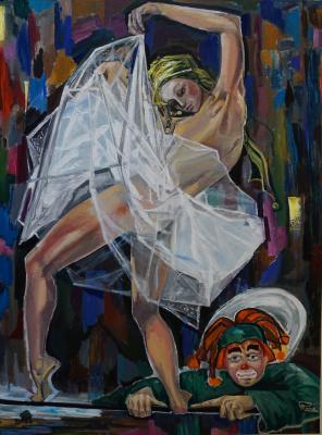 Rafael Michailovich Derchansky. Dream of Clown