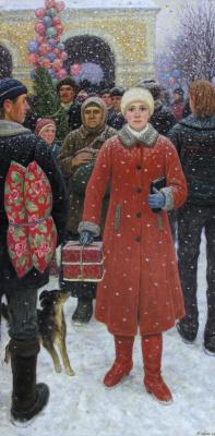 Yuri Petrovich Cugac. Happy New year