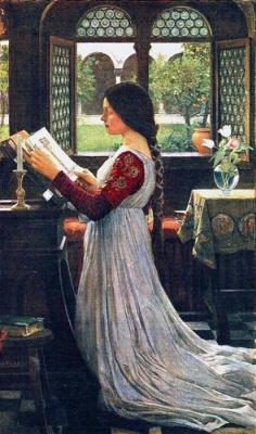 John William Waterhouse. Prayer