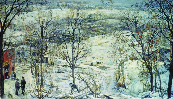 Isaac Brodsky. Winter