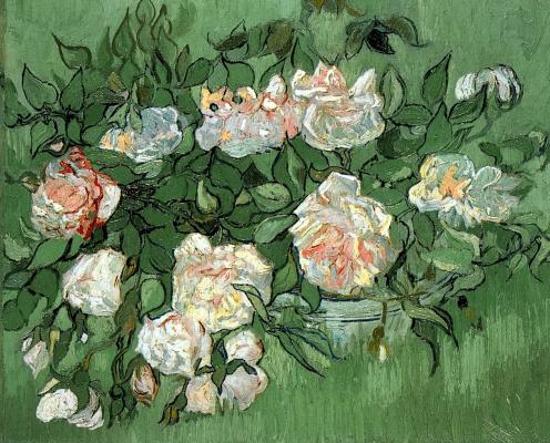 Vincent van Gogh. Pink roses