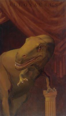 "Vitaly Komar. Allosaurus Series ""Portraits of ancestors"""