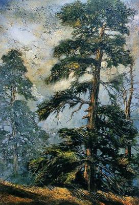 Дэвид Ланжевена. Лес