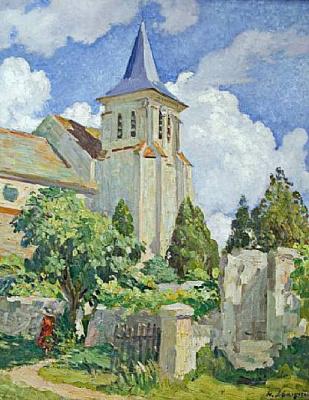 Анри Лебаск. Церковь в Монтеврен