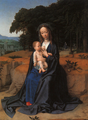 David Gerard. Rest on the flight into Egypt