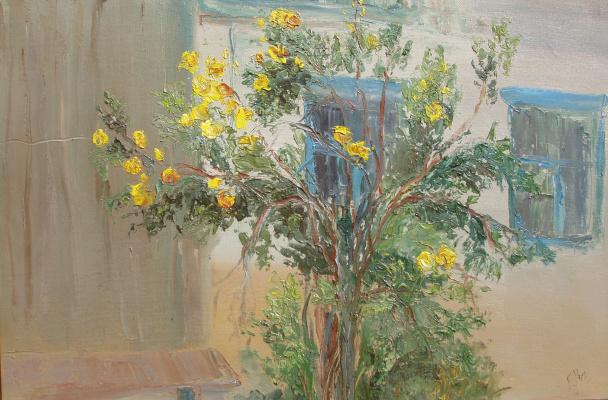 Elena Valyavina. Tea rose
