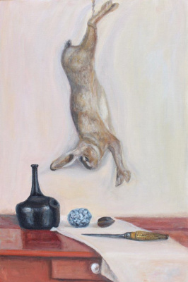 """Andrey Leonidovich Shepel. """"Still life with a hare"""""""