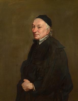 Джакомо Черути. Портрет священника