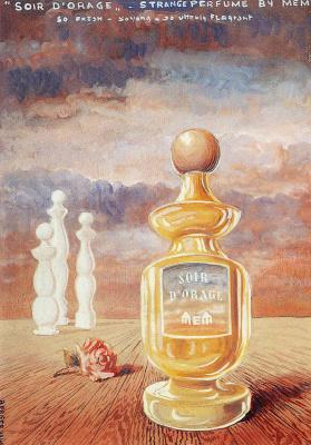 René Magritte. Soir d orage strange perfume by Mem