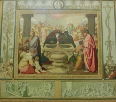 Johann Friedrich Overbeck. Sacrament of baptism