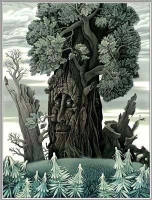Konstantin Avdeev. Old wise oak