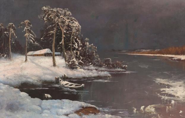 Julius Klever. Spring thaw