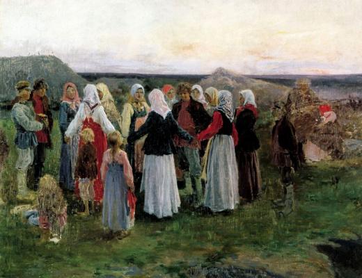 Алексей Степанович Степанов. Хоровод