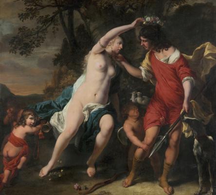 Фердинанд Балтасарс Боль. Венера и Адонис