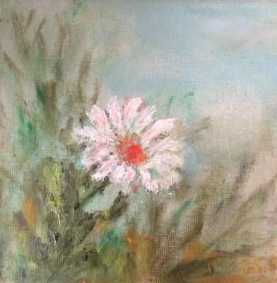 "Rita Arkadievna Beckman. Series ""Portraits of favorite flowers"" - Chamomile"