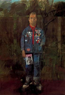 Питер Блейк. Автопортрет с журналом