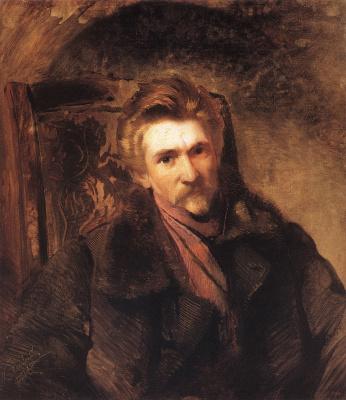 Konstantin Makovsky. Portrait of the artist Alexander Pavlovich Popov (Moscow)