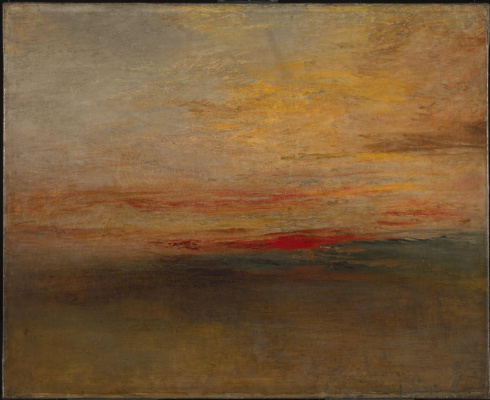 Joseph Mallord William Turner. Sunset