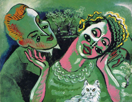 Francis Picabia. A guy and a girl