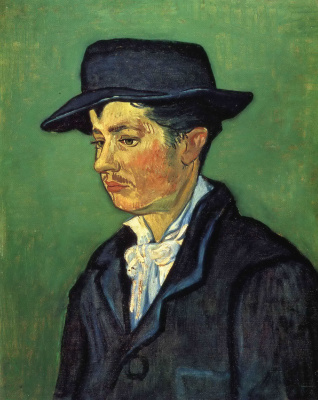 Vincent van Gogh. Portrait Of Armand Roulin