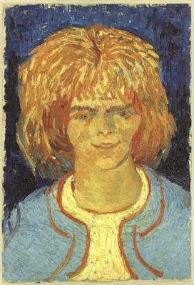 Vincent van Gogh. Girl with ruffled hair (the Brat)