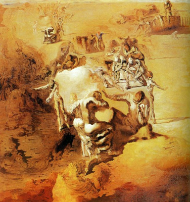 Salvador Dali. The great paranoid