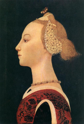 Paolo Uccello. Portrait of a lady