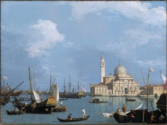 Giovanni Antonio Canal (Canaletto). San Giorgio Maggiore