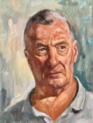 Vladimir Tsyskin. Portrait, study