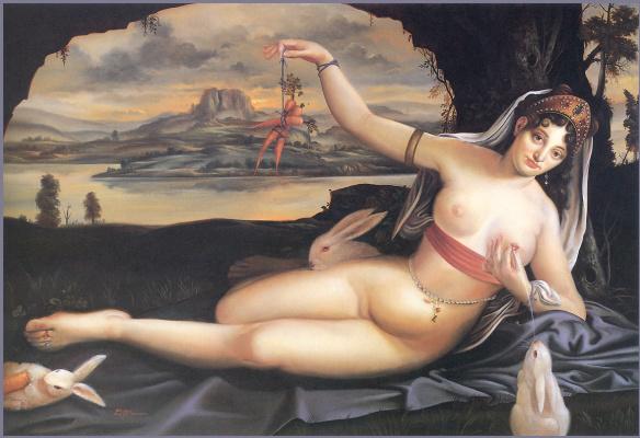 Дэвид Бауэрс. Венера и кролики
