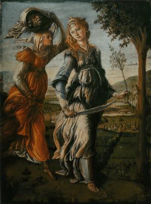 Sandro Botticelli. The return of Judith to Vitaliy