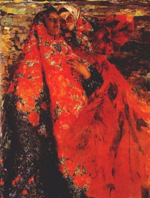 Philip Andreevich Malyavin. Women