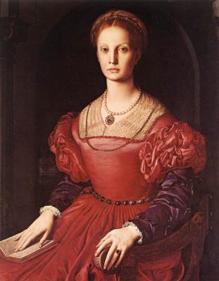 Agnolo Bronzino. Portrait of Lucretia