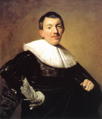 France Hals. Portrait of an unknown man