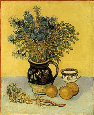 Винсент Ван Гог. Кувшин с полевым цветами