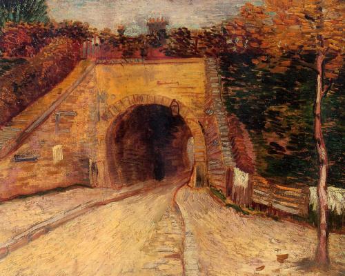 Винсент Ван Гог. Дорога с тоннелем