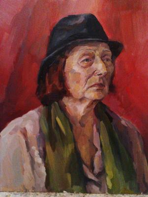 Селена Жигульская. Академ. портрет