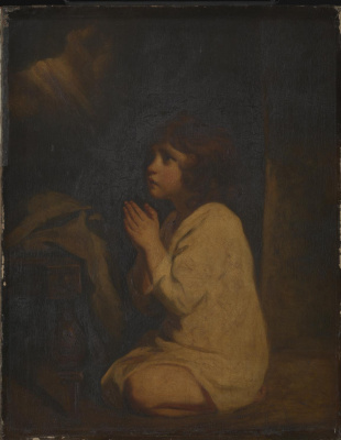 Joshua Reynolds. Infant Samuel