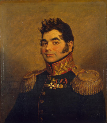 George Dow. Portrait of Dmitry Mikhailovich Mordvinov