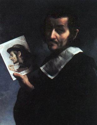Carlo Dolci. Double self-portrait