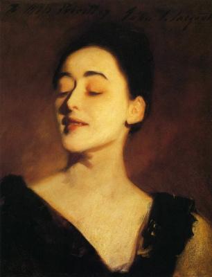 John Singer Sargent. Flora Priestley (sketch for a portrait)