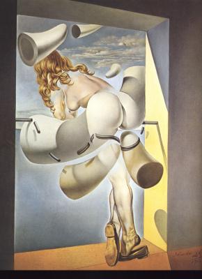 Salvador Dali. Sodom-gratification of the virgin